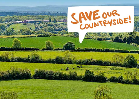 Campaign to Protect Rural England (CPRE) - Invitation to Sign Petition