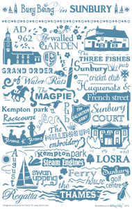 LOSRA, The Exclusive Outlet for Lower Sunbury Tea Towel